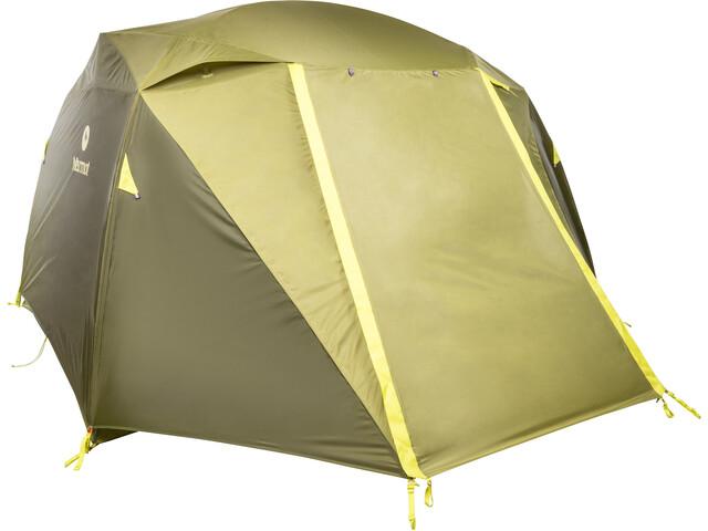 Marmot Limestone 6P Namiot żółty/zielony